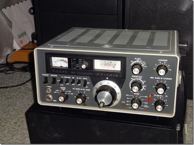 Yaesu FT-101E HF Transceiver