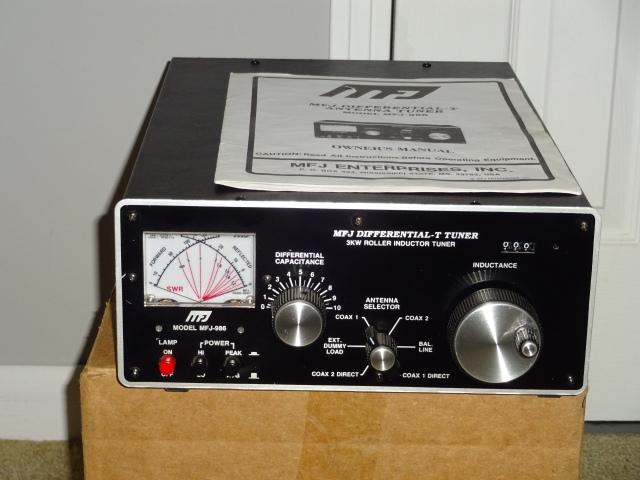 MFJ 986 Tuner