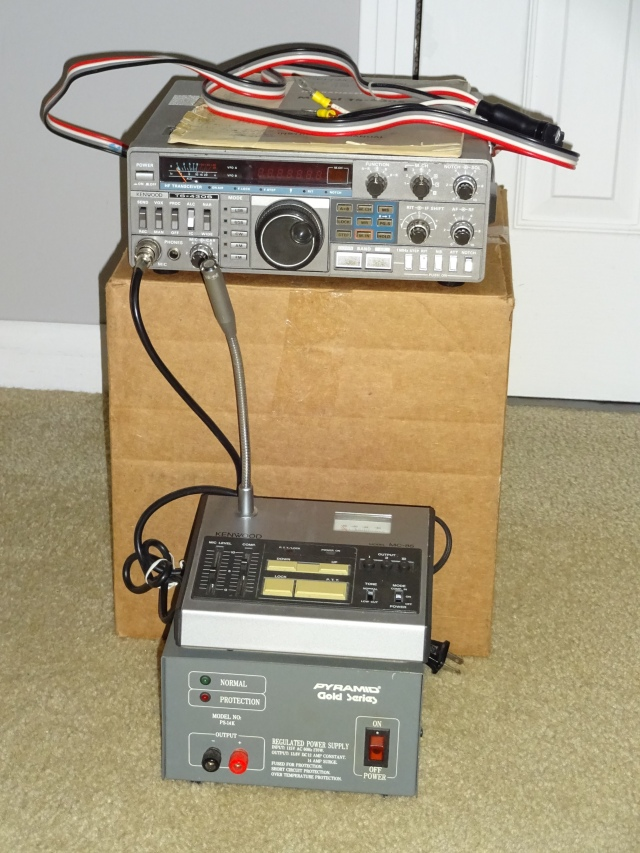 Kenwood TS-430S HF Transceiver and Power Supply