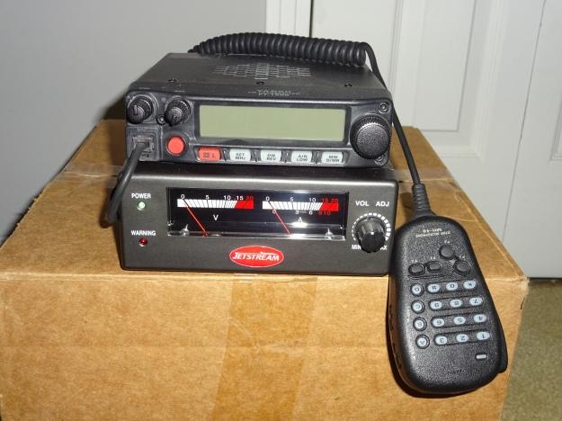 Yaesu FT-1900R 2 Meter FM Transceiver and Power Supply